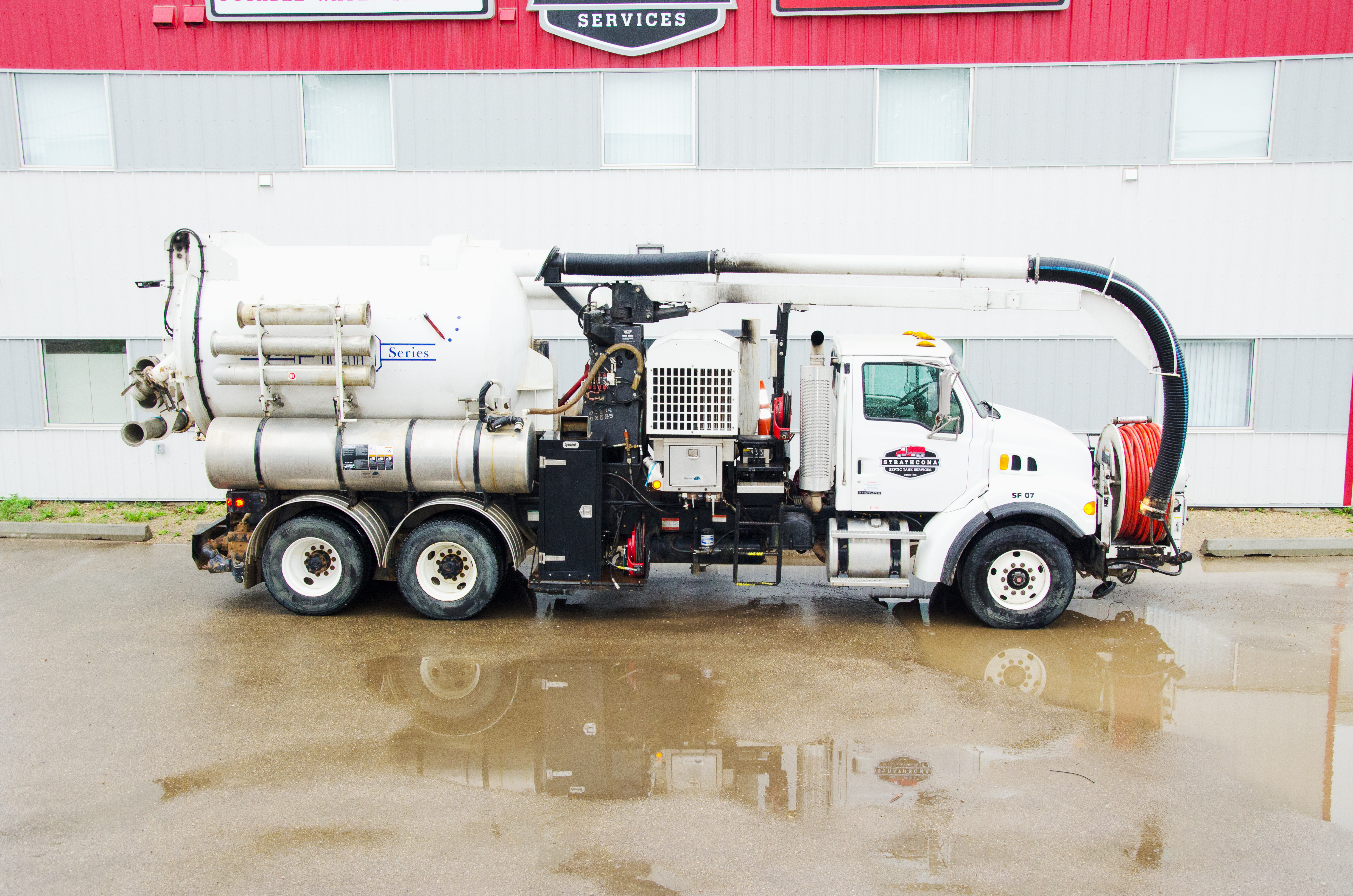 Power Flush Combo Unit Vacuum Truck