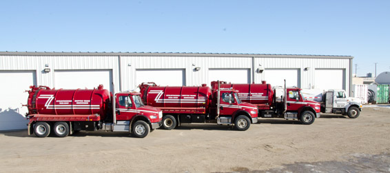 Commercial Vacuum Truck Services for Septic Tanks